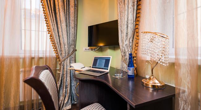 スカールスキー デザイン ホテル - モスクワ - 寝室