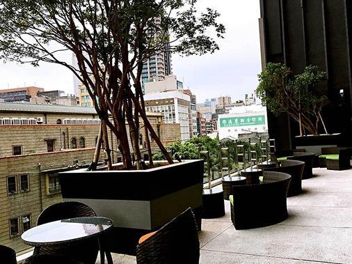 ホテル ミッドタウン リチャードソン - 台北市 - テラス