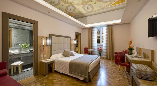ビーベ ジオッリ ナツィオナーレ - ローマ - 寝室