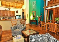 The Resort at Palmetto Bay - ロアタン島 - リビングルーム