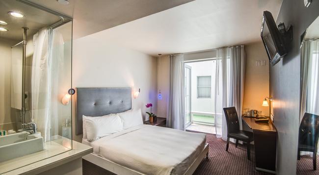 クリントン ホテル サウス ビーチ - マイアミ・ビーチ - 寝室