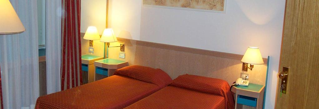 ホテル フラビア - ローマ - 寝室