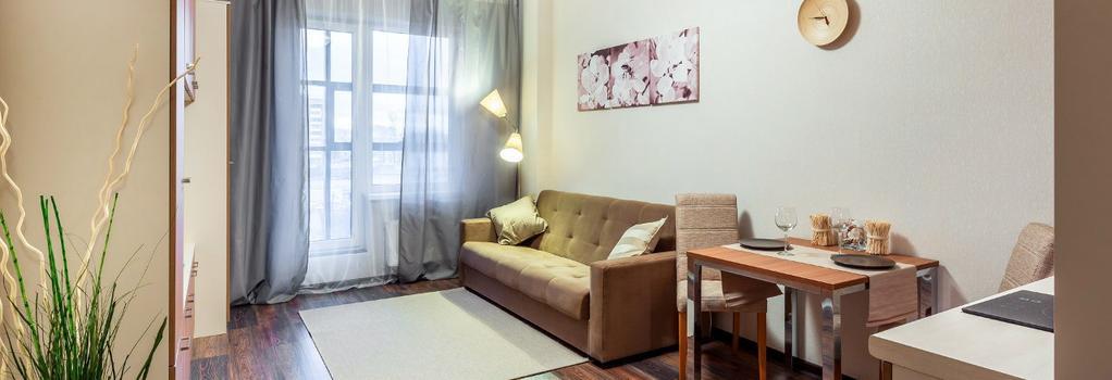 Prima Apart Hotel - サンクトペテルブルク - 寝室