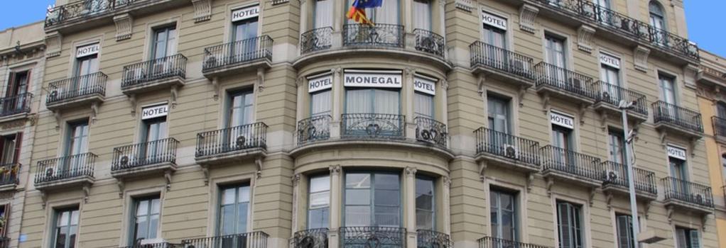 ホテル ミディアム モネガル - バルセロナ - 建物