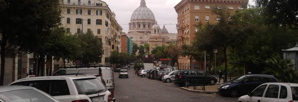 Bed and Breakfast La Stazione del Vaticano - ローマ - 屋外の景色