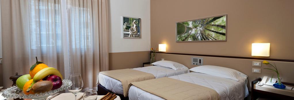 アストリア パレス ホテル - パレルモ - 寝室