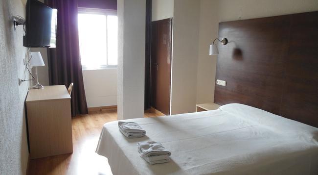 ホテル ヴィタ エンバジャドール - アルメリア - 寝室