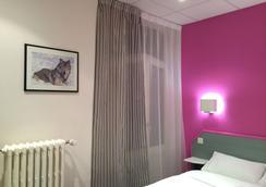 Hôtel Escurial - メス - 寝室