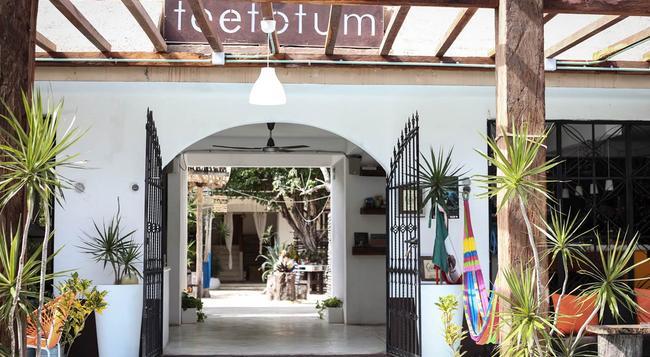Teetotum Hotel - トゥルム - 建物