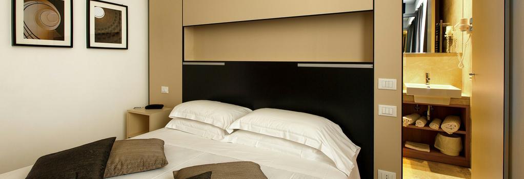 ホテル スメラルド - ローマ - 寝室