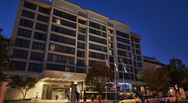 ザ エンバシー ロウ ホテル - ワシントン - 建物