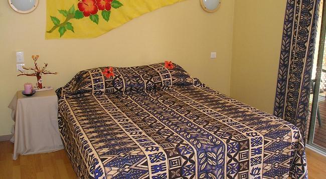 Pension Bounty - Rangiroa - 寝室
