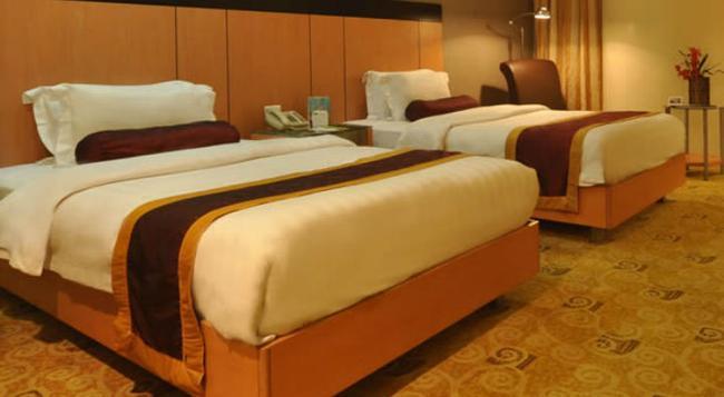 Greenhills Elan Hotel Modern - マニラ - 寝室