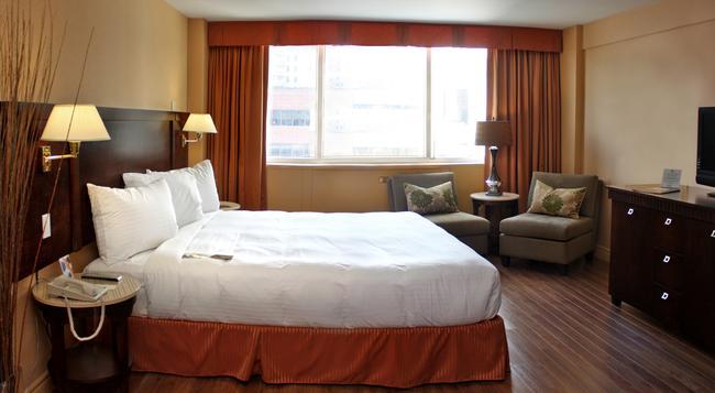 ホテル エスプレッソ モントリオール センター ヴィル ダウンタウン - モントリオール - 寝室