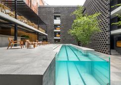 Hotel Carlota - メキシコシティ - プール