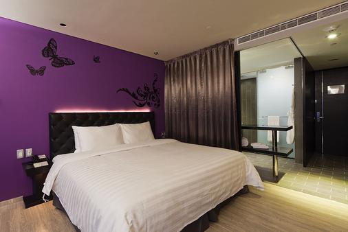 FX ホテル 台北 ナンジン イースト ロード ブランチ - 台北市 - 寝室