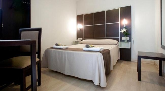 ホテル ロス ヒラソレス - グラナダ - 寝室