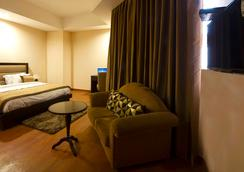 ホテル オーラ @ エアポート - ニューデリー - 寝室