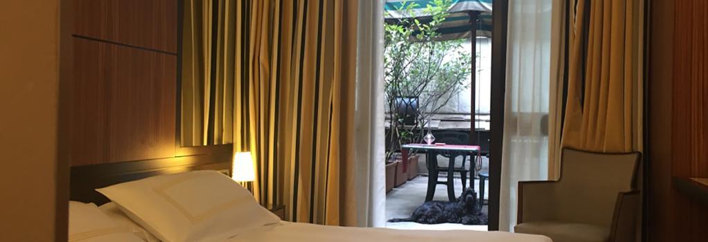ホテル カロッビオ - ミラノ - 寝室