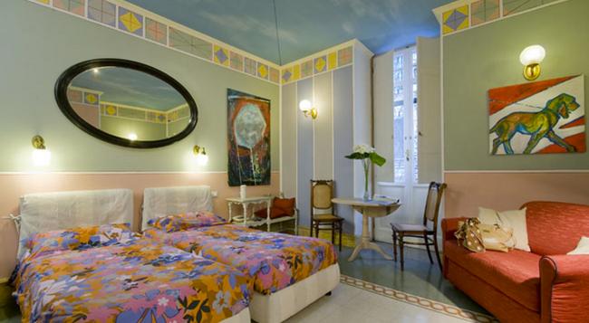 ホテル エモーナ アクアエドゥクトゥス - ローマ - 寝室