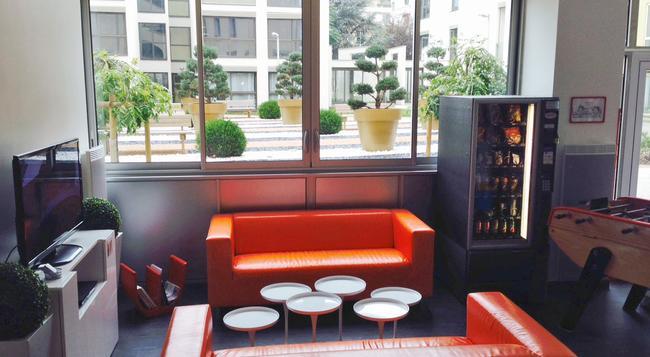 Lyon Appart' Hotel - リヨン - ラウンジ