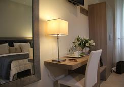 ホテル ザラ ミラノ - ミラノ - 寝室