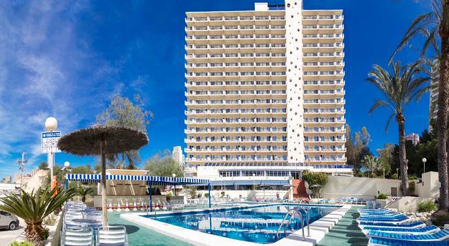 Hotel Poseidón Playa - ベニドーム - 建物
