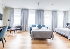 フォスホテル レイキャビク - レイキャヴィク - 寝室