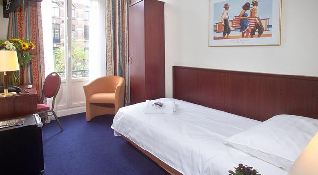 ホテル アレクサンダー - アムステルダム - 寝室