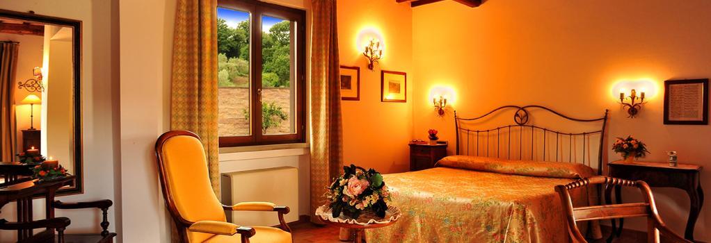 ホテル ラ フォンテ デル セロ - Saturnia - 寝室