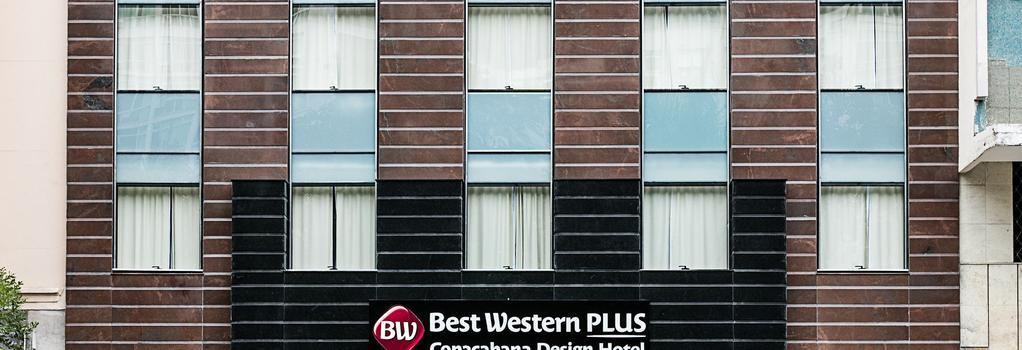 Best Western Plus Copacabana Design Hotel - リオデジャネイロ - 建物