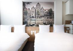 シティーズ ホテル アムステルダム - アムステルダム - 寝室