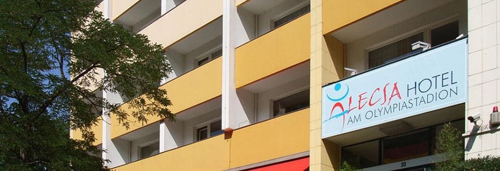 アレクサ ホテル アム オリンピアスタディオン - ベルリン - 建物