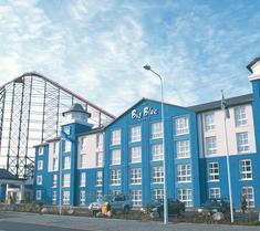 ザ ビッグ ブルー ホテル - ブラックプール プレジャー ビーチ