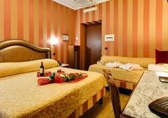 ホテル フォルテ - ローマ - 寝室