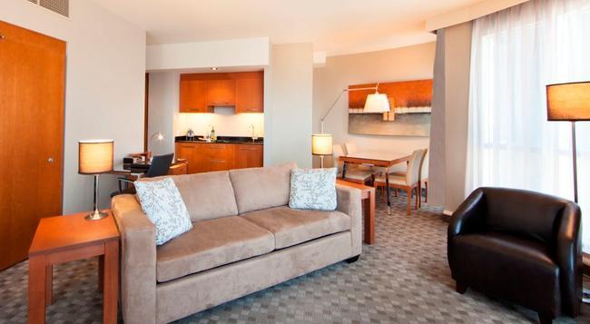 ホテル ル クリスタル モントリオール - モントリオール - 寝室