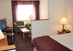 クリスタル イン ホテル & スイーツ ソルトレイクシティ - ソルトレイクシティー - 寝室