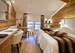 Hôtel Les Armures - ジュネーブ - 寝室