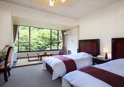 塔ノ沢 キャトルセゾン - 箱根町 - 寝室