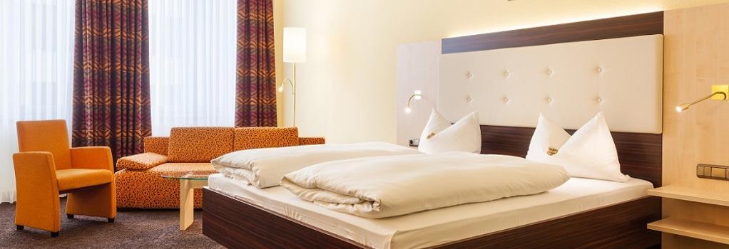 ホテル アウグスタ - アウグスブルク - 寝室