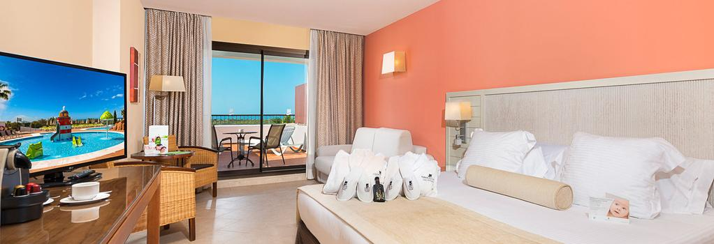 フエルテ エル ロムピード ホテル - Cartaya - 寝室