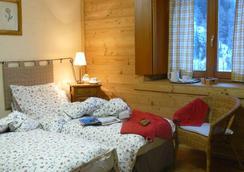 Hotel Funivia - クールマイユール - 寝室