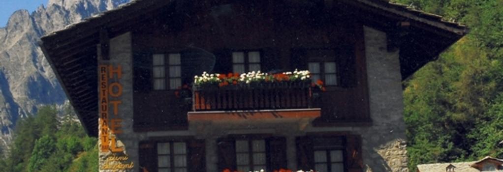 ホテル デンテ デル ジガンテ - クールマイユール - 建物