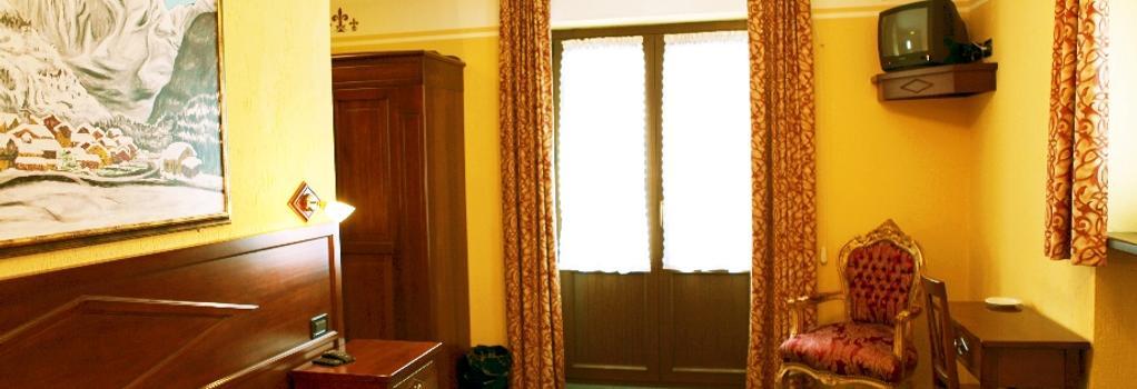 Stella del Nord - クールマイユール - 寝室