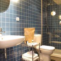 アパルトテル グーテンベルク Baño habitación chic&basic Ramblas