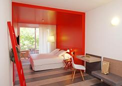 アパルトテル グーテンベルク - バルセロナ - 寝室