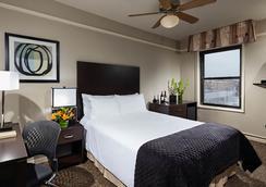 シティー スイーツ ホテル - シカゴ - 寝室