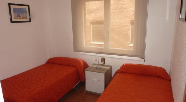 アパルタトメントス ガンドゥシェール - バルセロナ - 寝室