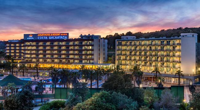 アパートホテル コスタ エンカンターダ - リョレート・デ・マル - 建物