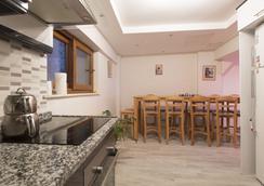 イン ハウス ホステル - イズミール - キッチン